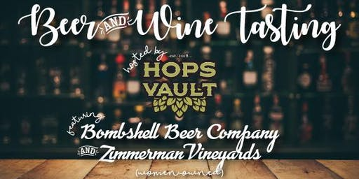 WIM Beer and Wine Tasting Networking Event! Sponsored by The Hops Vault