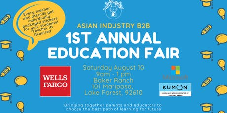 AIB2B Presents 1st Annual Summer Education Fair tickets