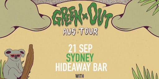 Lazy Ghost - Live in Sydney - The Green Out Tour