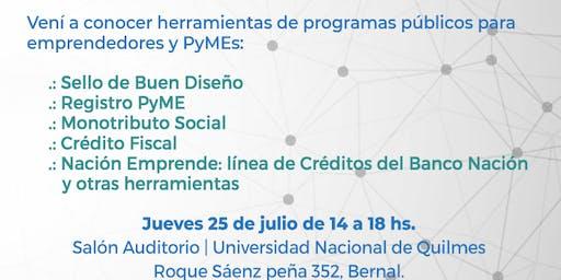 Presentacion de Herramientas y Programas para Emprendedores y PyMEs
