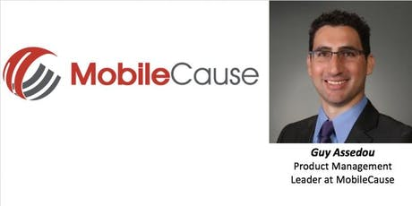 MobileCause and a Day in the Life of a Product Management Leader tickets
