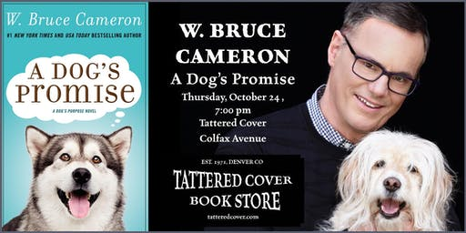 An Evening with Bruce Cameron, Book Talk & Signing