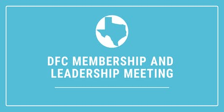 DFC Membership/Leadership Meeting tickets
