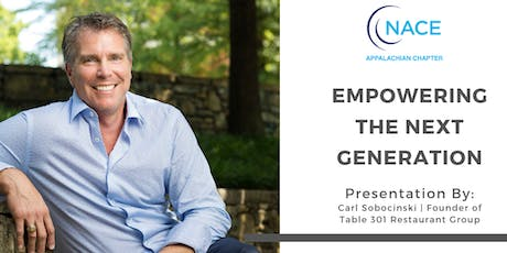 Empowering the Next Generation presented by Carl Sobocinski tickets
