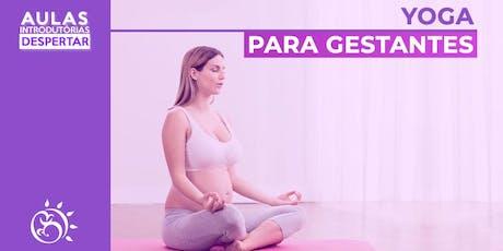 Aula Introdutória  - Yoga para Gestantes   ingressos