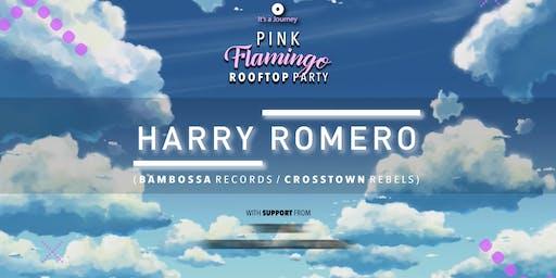 Pink Flamingo Rooftop Party w/ Harry Romero