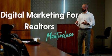 Digital Marketing For Realtors Masterclass tickets