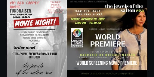 World Screening Movie Premiere: The Jewels Of The Salton Sea