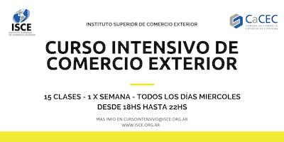 CURSO INTENSIVO DE COMERCIO EXTERIOR