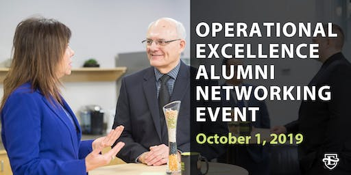 Operational Excellence Certificate Alumni Event