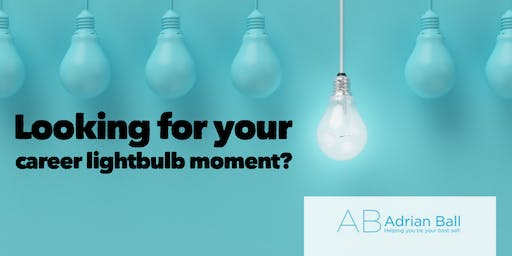 Career lightbulb event. Improve networking, personal brand and confidence