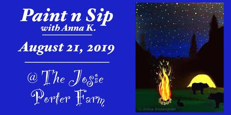 Paint n Sip- Camping Under the Stars tickets