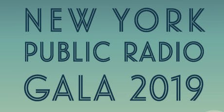 2019 New York Public Radio Gala tickets