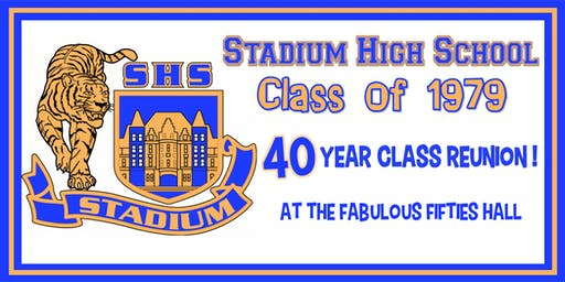 Stadium High School Class of 1979 - 40 Year Reunion
