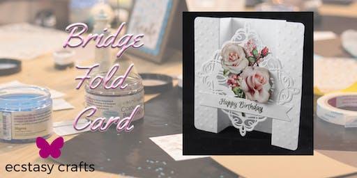 Bridge Fold Card