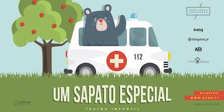 "Teatro Infantil ""Um Sapato Especial"" bilhetes"