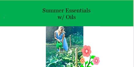 Summer Essentials with Oils tickets