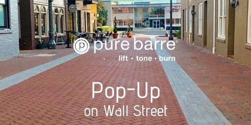 FREE Community Pop-Up on Wall Street