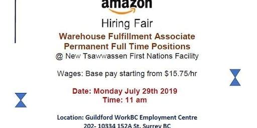 AMAZON Hiring Fair