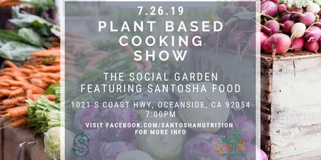 Plant Based Cooking Show tickets
