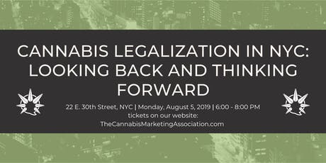 Cannabis Legalization in NYC:  Looking Back and Thinking Forward tickets
