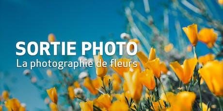 Sortie Photo // La photographie de fleurs billets