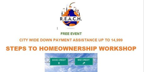 Homeownership City-Wide Downpayment Assistance Program tickets