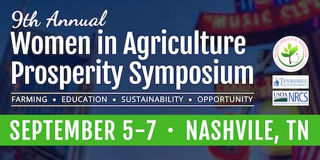 9th Annual Nat'l Women in Agriculture Association Symposium tickets