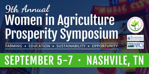 9th Annual Nat'l Women in Agriculture Association Symposium