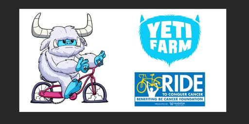 Yeti Ride to Conquer Cancer Fundraiser