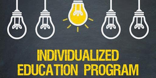 Autism Community Lecture: Individualized Education Program (IEP)