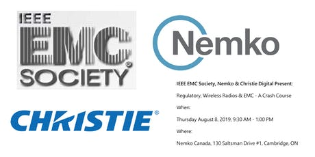 Regulatory, Wireless Radios & EMC - A Crash Course tickets