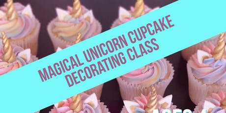Magical Unicorn Cupcake Decorating Class - Ages 4+ tickets
