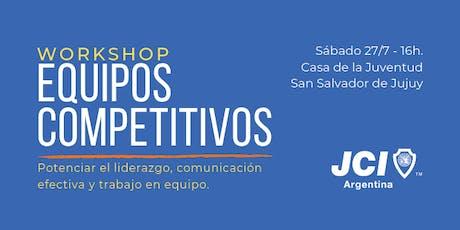 Workshop: Equipos Competitivos - JCI Argentina entradas