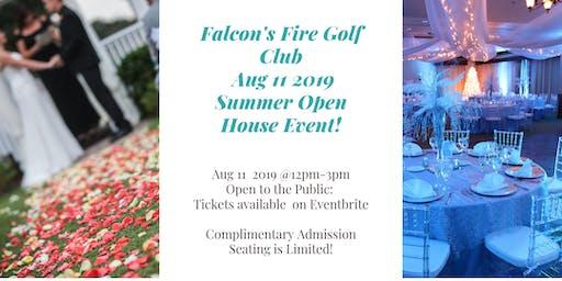 Falcon's Fire Summer Open House