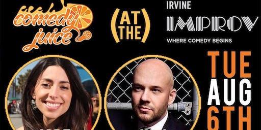 Free Comedy @ The Irvine Improv Tuesday 8/6!