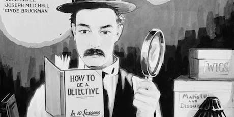 "Free Classic Movie: ""Sherlock Jr."" (1924) starring Buster Keaton tickets"