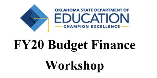 FY20 Budget Finance Workshop