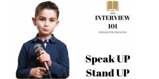 Stand up & Speak for kids