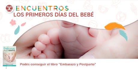 Taller de Familia y Crianza - Los primeros días del bebé entradas