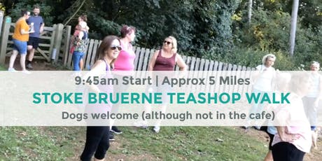 STOKE BRUERNE TEASHOP WALK  | 5 MILES | MODERATE | NORTHANTS tickets