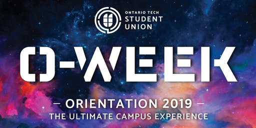 O-Week 2019, presented by Ontario Tech Student Union
