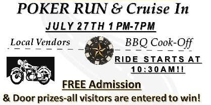 Poker Run & Cruise In