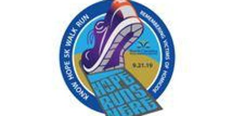 """NCVAN 8th Annual """"Know Hope"""" Walk/Run (5k and 1mile courses) tickets"""
