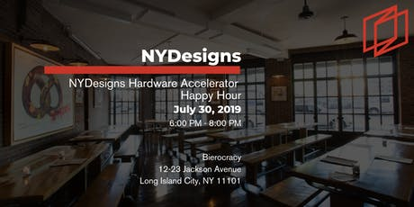 NYDesigns Hardware Accelerator Happy Hour tickets