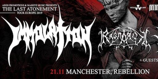 IMMOLATION/ RAGNAROK @ Rebellion, Manchester