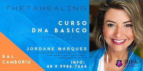 Curso THETAHEALING - DNA BÁSICO - Balneário Camboriú - Setembro tickets