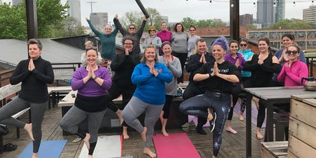 Rooftop Yoga and Brunch tickets