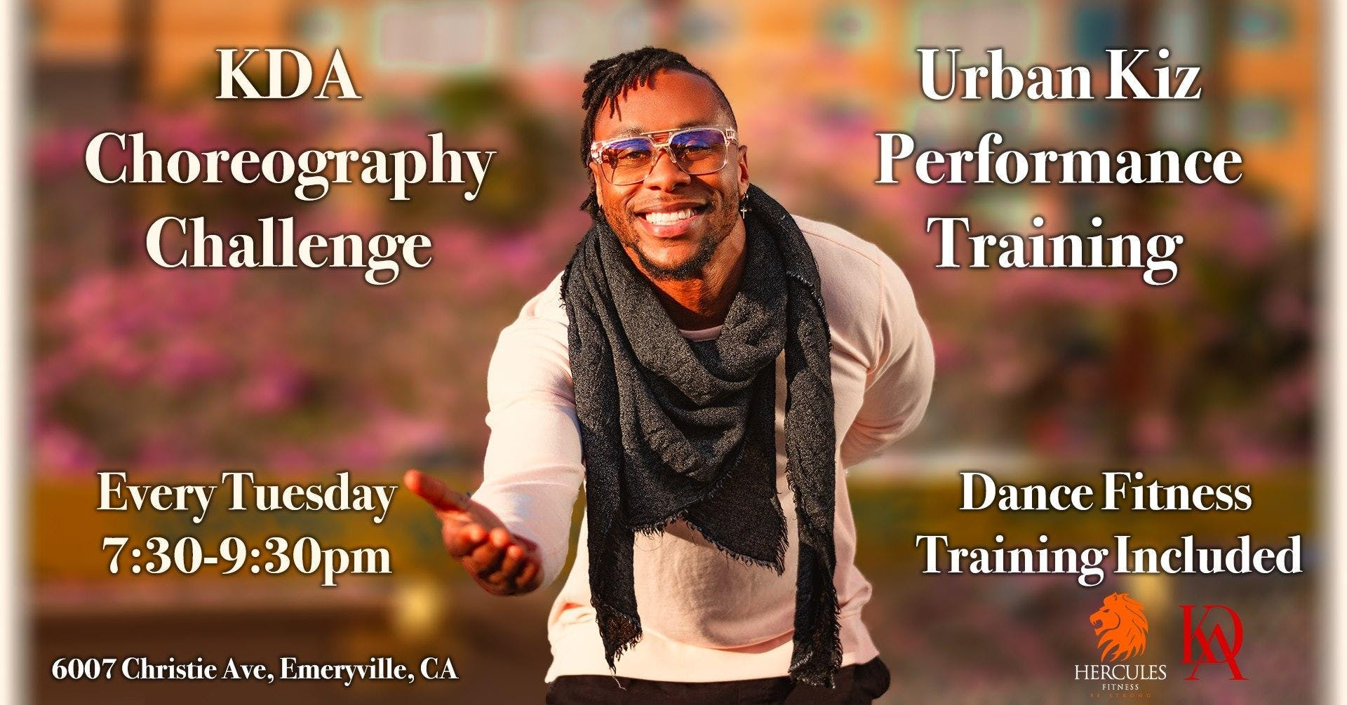KDA Choreo Challenge | Urban Kiz Performance Training