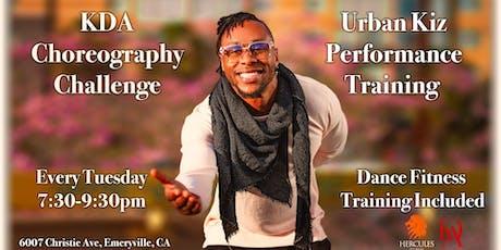 KDA Choreo Challenge | Urban Kiz Performance Training tickets